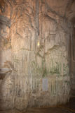 Nettuno cave. The organ, Nettuno cave, Sardinia, Italy royalty free stock photography