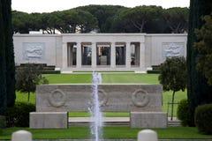 NETTUNO Italia, Kwiecień, - 06: Wejście Amerykański Militarny Ce Zdjęcia Royalty Free