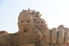 Netuno - deus dos oceanos Imagem de Stock