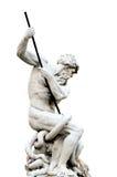 Netuno isolado, praça Navona em Roma Itália Fotografia de Stock Royalty Free