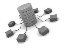 Netwerk Stock Foto