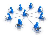 Netwerk Royalty-vrije Stock Afbeeldingen