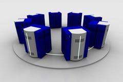 Netwerk 3 royalty-vrije illustratie