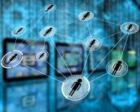 Netwerk royalty-vrije stock foto's