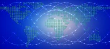 Netwerk bedrijfsconectionconcept - Netwerk bedrijfsconection Royalty-vrije Stock Foto