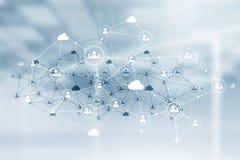 Netwerk communautair concept Royalty-vrije Stock Foto's
