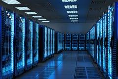 Netwerk en Internet-communicatietechnologieconcept Royalty-vrije Stock Afbeelding