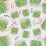 Netwerk en vissen Naadloos patroon op een lichte achtergrond Stock Fotografie