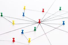 Netwerk, netwerk, verbinding, mededeling Royalty-vrije Stock Afbeelding