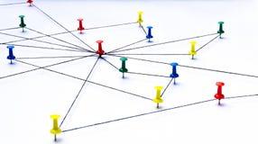 Netwerk, netwerk, verbinding, mededeling Royalty-vrije Stock Fotografie