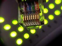 Netwerk onder controle Royalty-vrije Stock Afbeeldingen