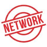 Netwerk rubberzegel vector illustratie