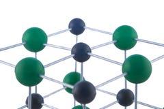 Netwerk van atomen Stock Afbeelding