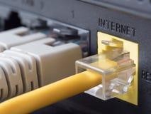 Netwerkapparatuur Royalty-vrije Stock Foto's
