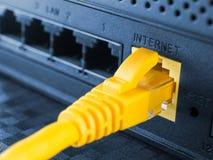 Netwerkapparatuur Stock Foto's