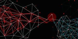 Netwerkenverbindingen royalty-vrije stock afbeelding
