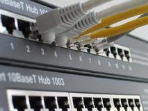 Netwerkhub stock afbeeldingen
