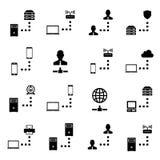 Netwerkpictogram vector illustratie