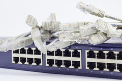 Netwerkserver Stock Afbeelding