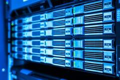 Netwerkservers Stock Foto
