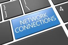 Netwerkverbindingen Stock Foto's