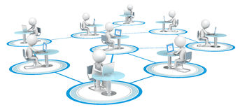 Network. Royalty Free Stock Photo