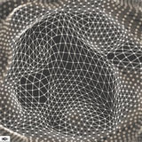 Network Abstract Background. 3d Technology Vector Illustration Stock Images