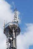 Network antenna stock photo