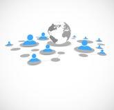 Network background Royalty Free Stock Image