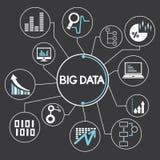 Network, big data Royalty Free Stock Photos