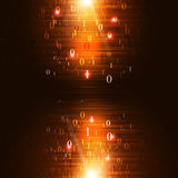 Network Binary Code Background Stock Images