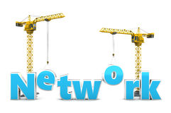 Network building Stock Photography