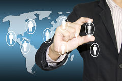 Network business Stock Images