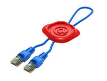 Network cable royalty free illustration