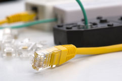 Network cable Stock Image