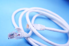 Network cable Royalty Free Stock Photo