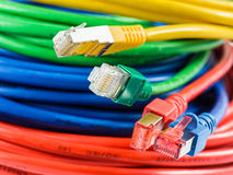 Network cable royalty free stock photography