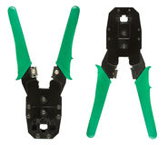 Network cable crimper Royalty Free Stock Photography