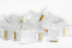 Network Cable RJ45 Royalty Free Stock Photography