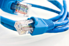 Network cable RJ45 Stock Photos