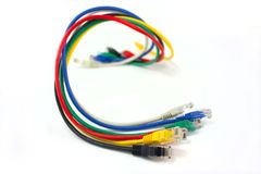 Network cables Royalty Free Stock Photos