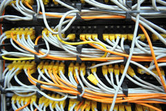 Network cables Royalty Free Stock Photography