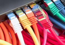 Network Cables Stock Photography