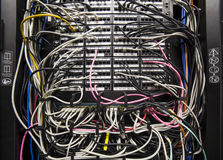 Network cabling Stock Photos