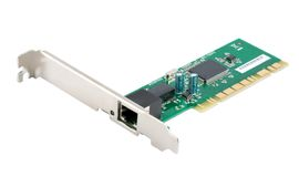 Network card Stock Photography