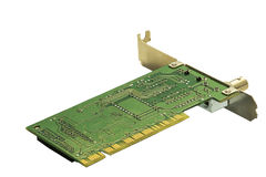 Network card 1990s Stock Photo