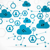 Network cloud Stock Photos