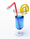 Network coctail Stock Images