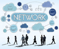 Network Communication Connection Internet Concept Royalty Free Stock Images