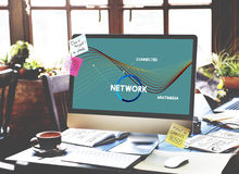 Network Communication Connection Web concept Stock Photography